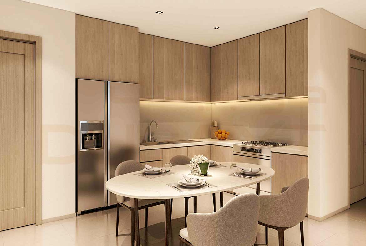 Act One/Act Two Luxury Apartments by Emaar - Dining