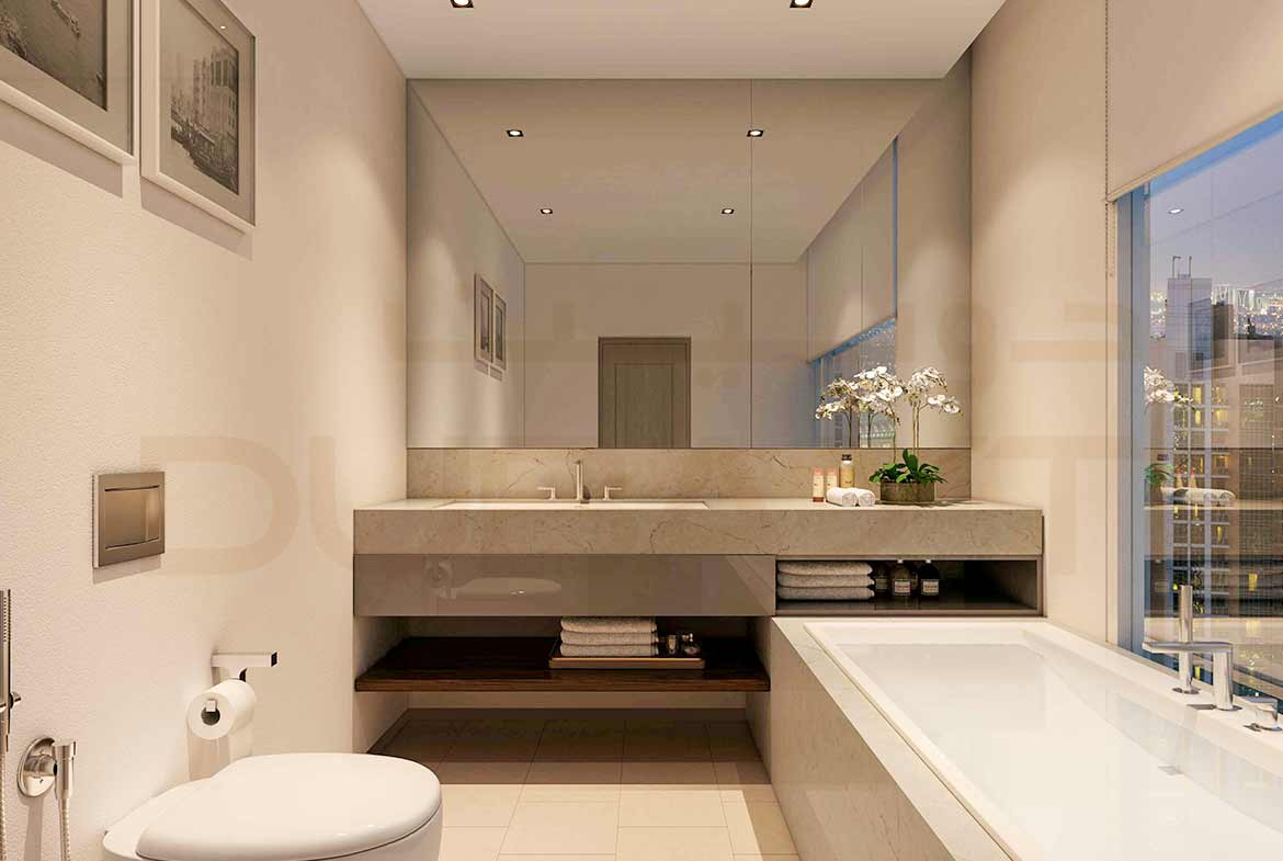 Act One/Act Two Luxury Apartments by Emaar - Bathroom