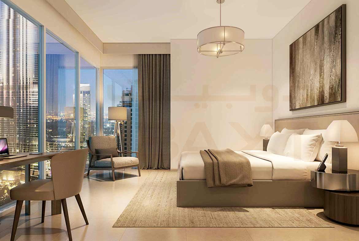 Act One/Act Two Luxury Apartments by Emaar - Bedroom