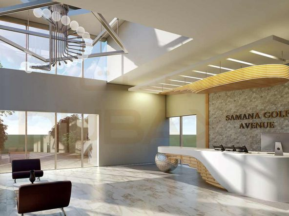Apartments for sale in Samana Golf Avenue - Entrance