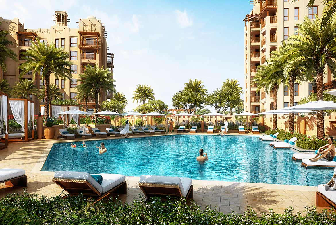 Apartments for Sale in Asayel Madinat Jumeirah Living - Pool