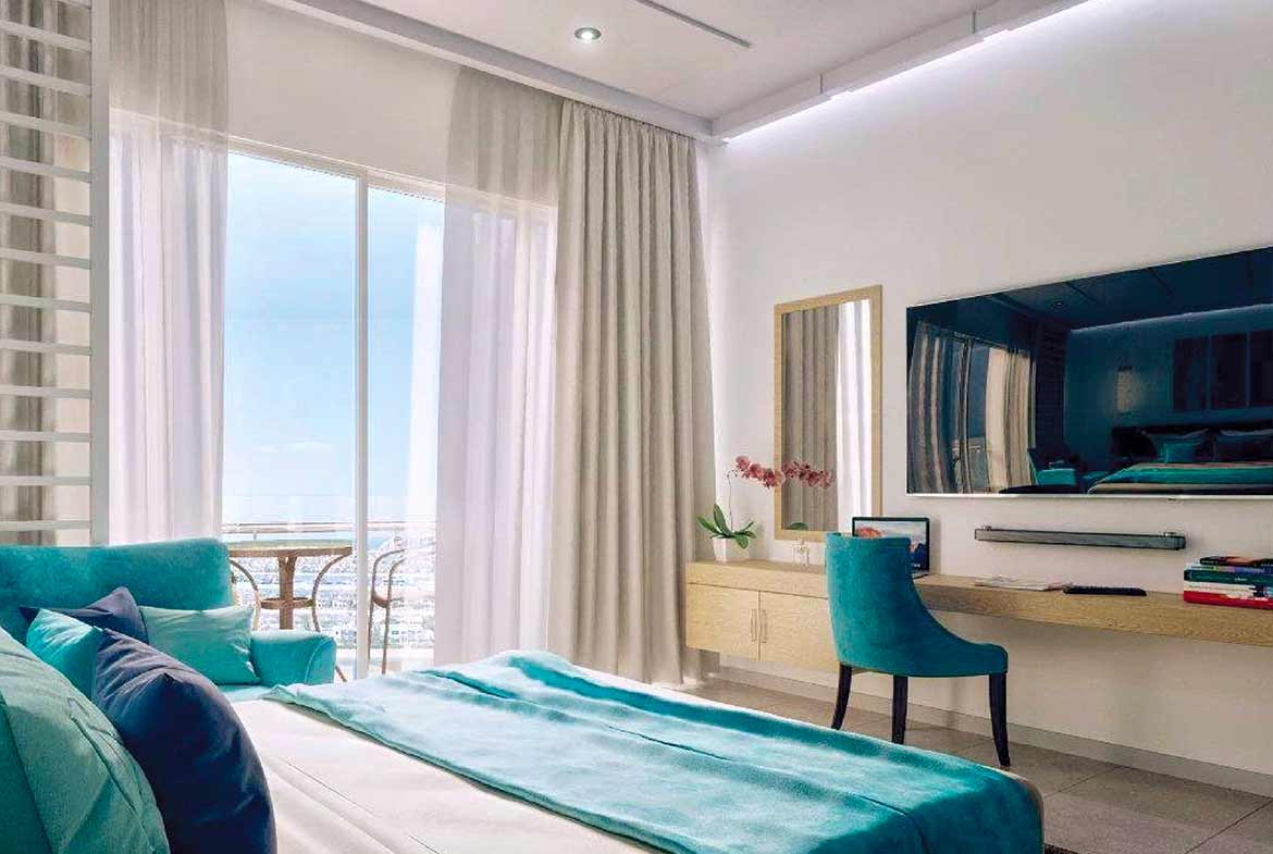 Apartments for sale in Seven Palm - Bedroom View