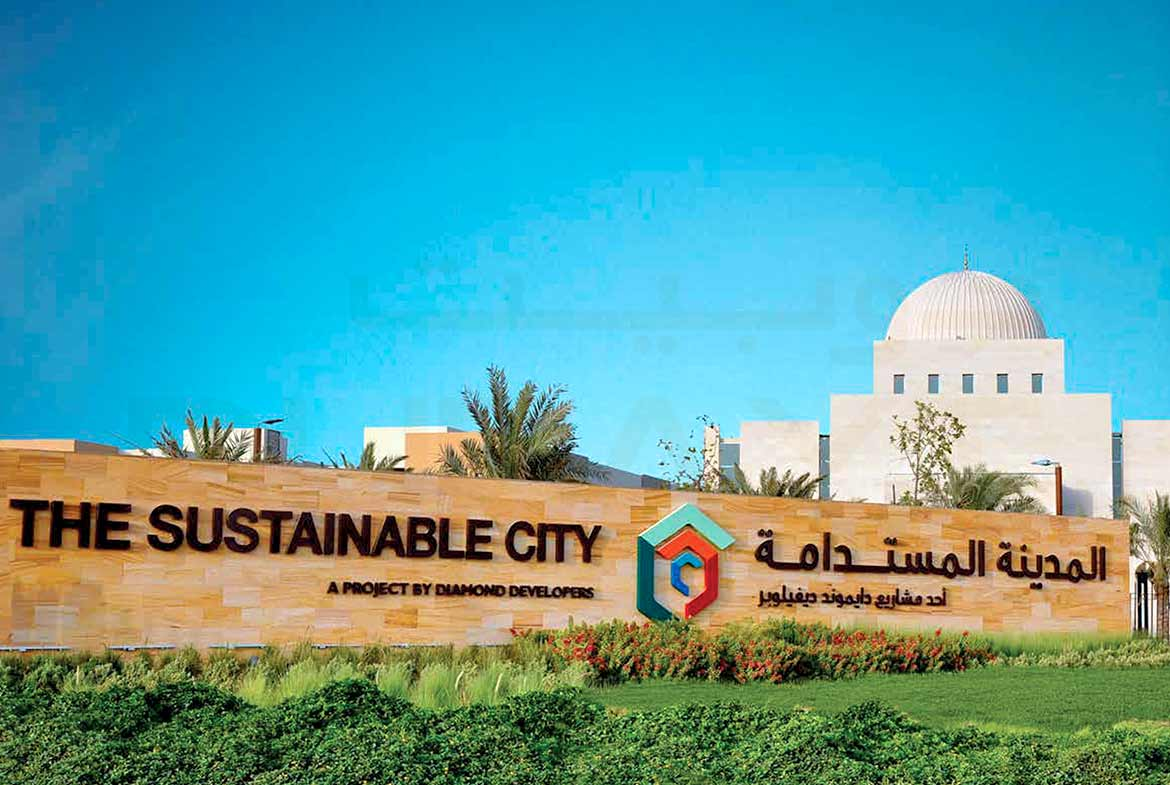 The sustainable city in the middle of a desert